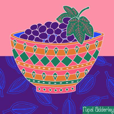 Bowl of Grapes (140-1)